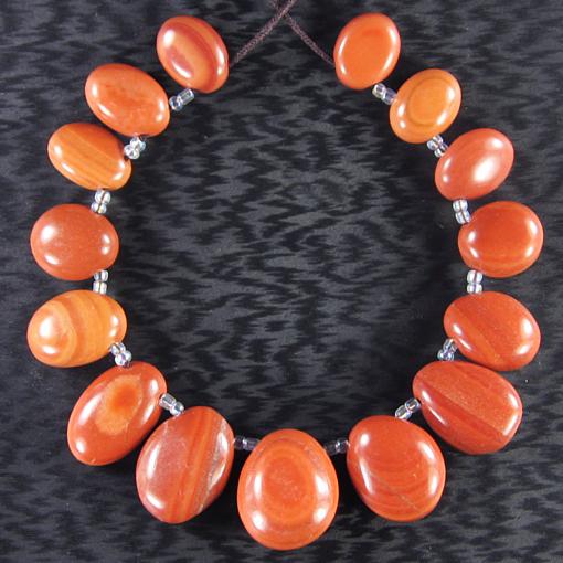 Red Malachite Stone : Red malachite quot bead set cj ebay